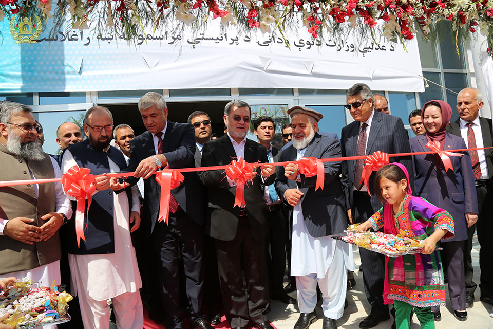 Photos of MoJ New Building Inauguration Ceremony in Darul Aman;